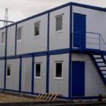 Модульное здание из бытовок